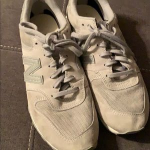 New Balance Shoes - New Balance grey suede like
